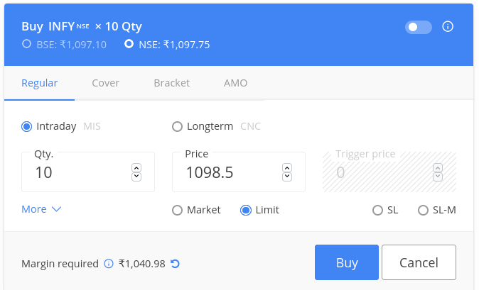 Zerodha Product Codes Explained- CNC, MIS, SL meaning 2