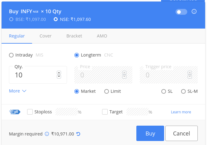 Zerodha Product Codes Explained- CNC, MIS, SL meaning