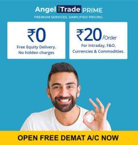 Angel broking free demat account