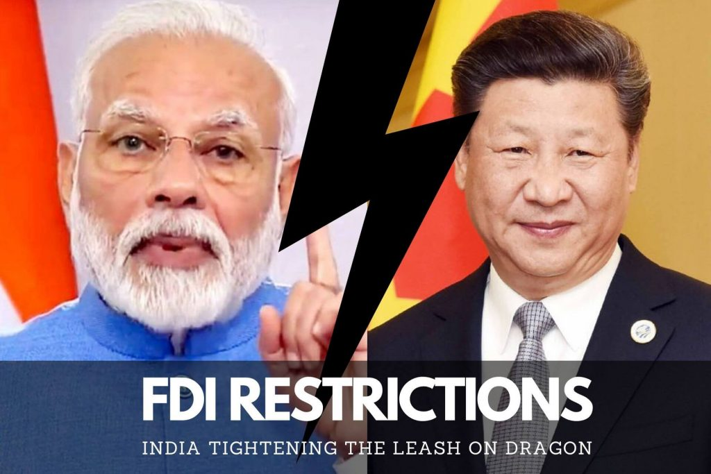 FDI RESTRICTIONS india 2020