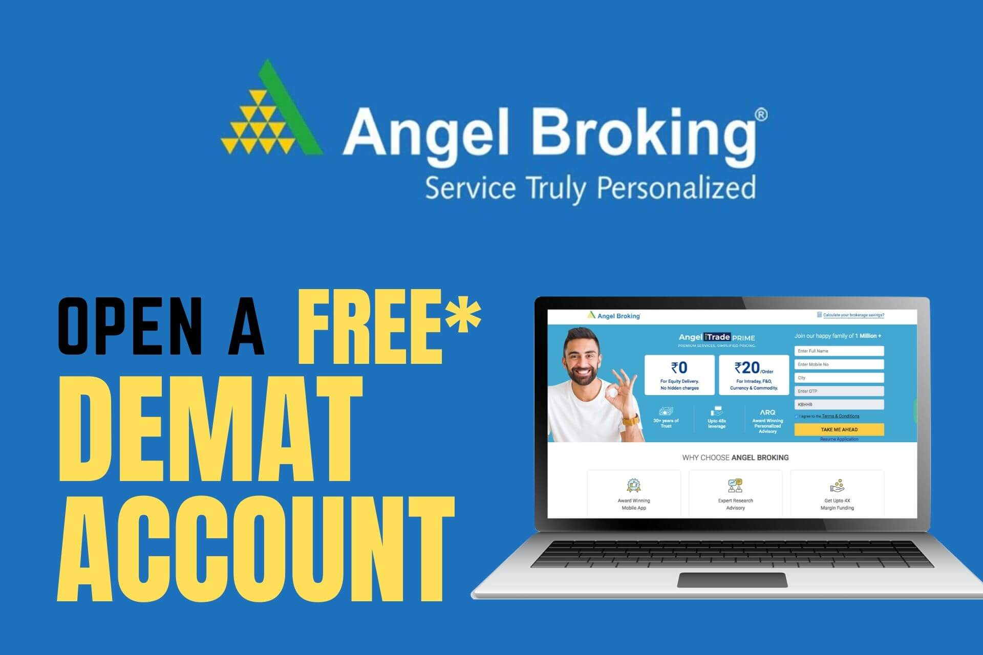 How to Open Demat Account at Angel Broking?