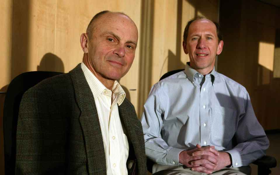 American Economists Eugene Fama and Kenneth French, known for the five-factor model