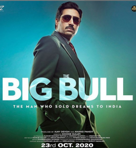 the big bull harshad mehta based upcoming movie