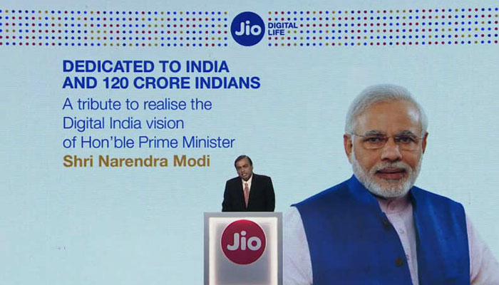 digital india modi jio
