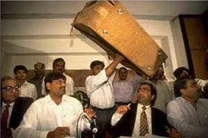 Harshad mehta bribe suitcase