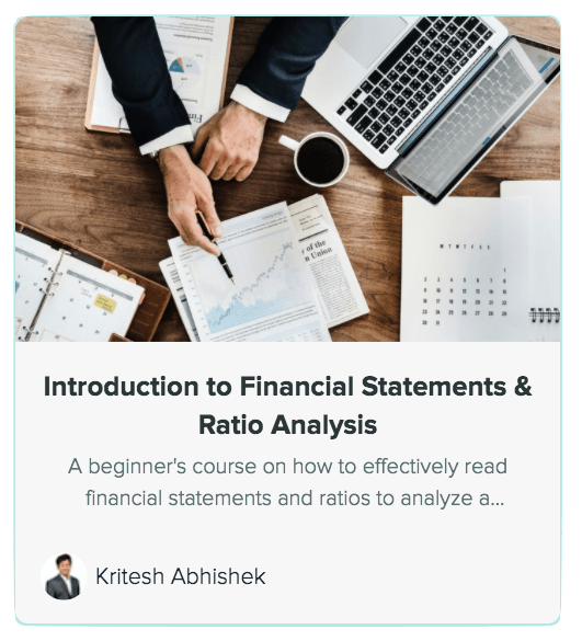 Introduction to financial statements course
