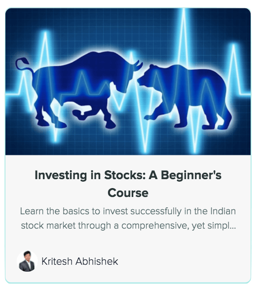 Investing in stocks a beginners course