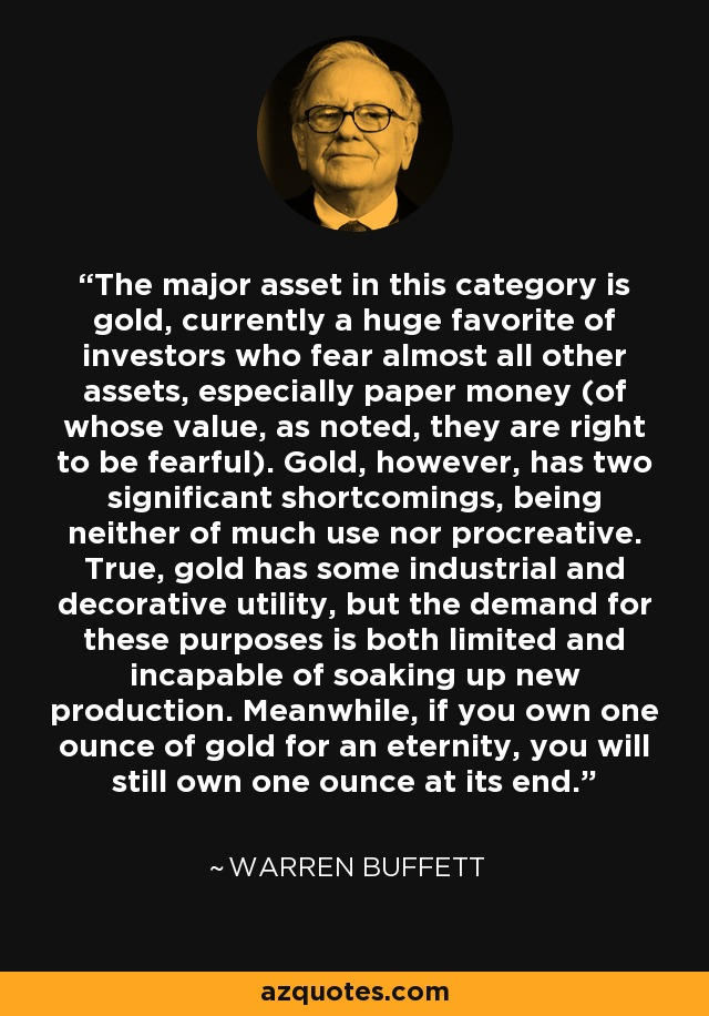 warren buffett quote investing