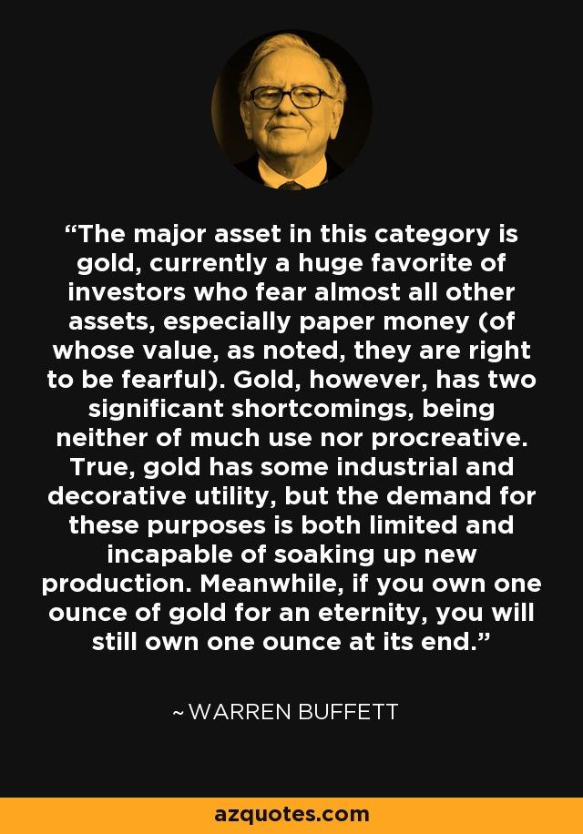 warren buffett quote investing