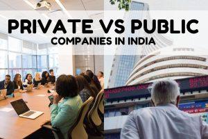 Private vs Public Company difference