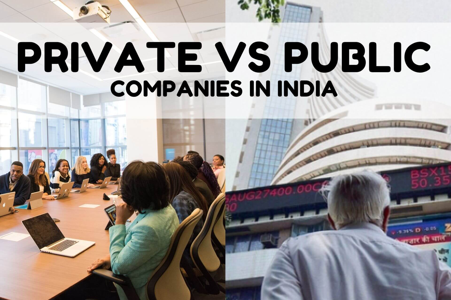 Private vs Public Company in India: What's the Difference!