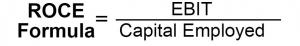 ROCE formula