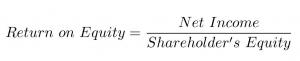 ROE formula