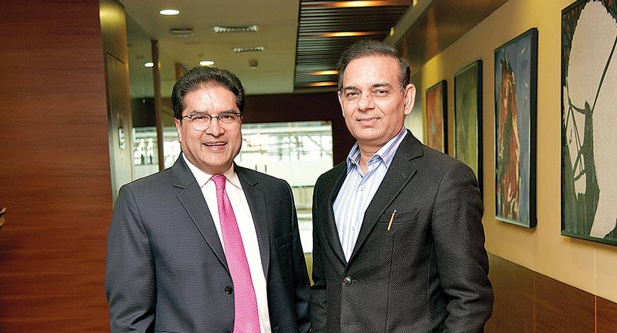 Raamdeo Agrawal and Motilal Oswal