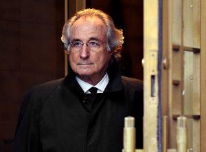 Bernie Madoff ponzi scheme