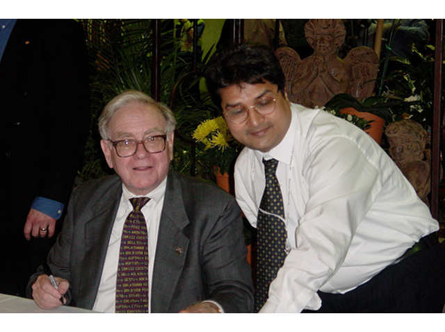 Warren Buffet and Raamdeo Agrawal