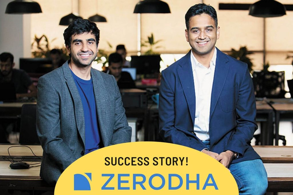 zerodha success story discount stockbroking India