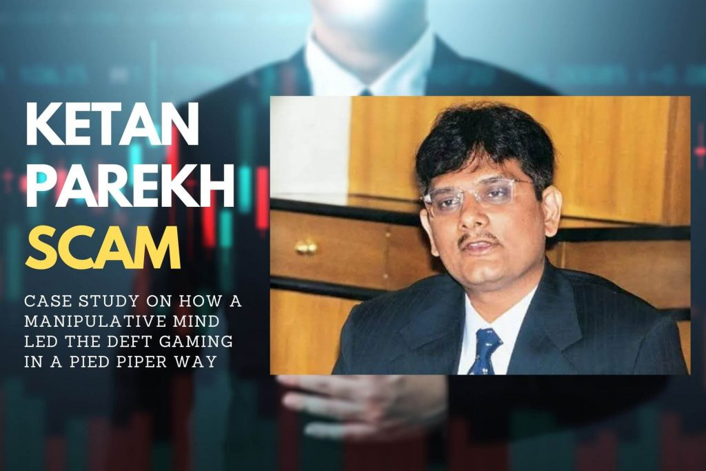 KETAN PAREKH SCAM cover
