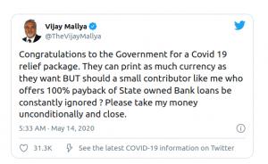 Vijay Mallya Urges Govt To Take His Money & Close His Case