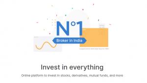 zerodha account opening biggest stockbroker