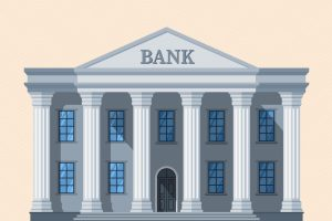 Vector image of a Bank | Small Finance Banks in India