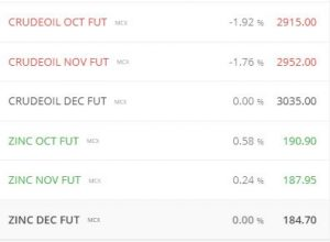 Watch list of the commodities - How to Trade Commodities in India
