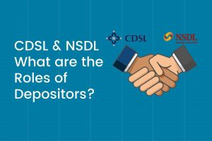 what are the roles of depositors CDSL and NSDL