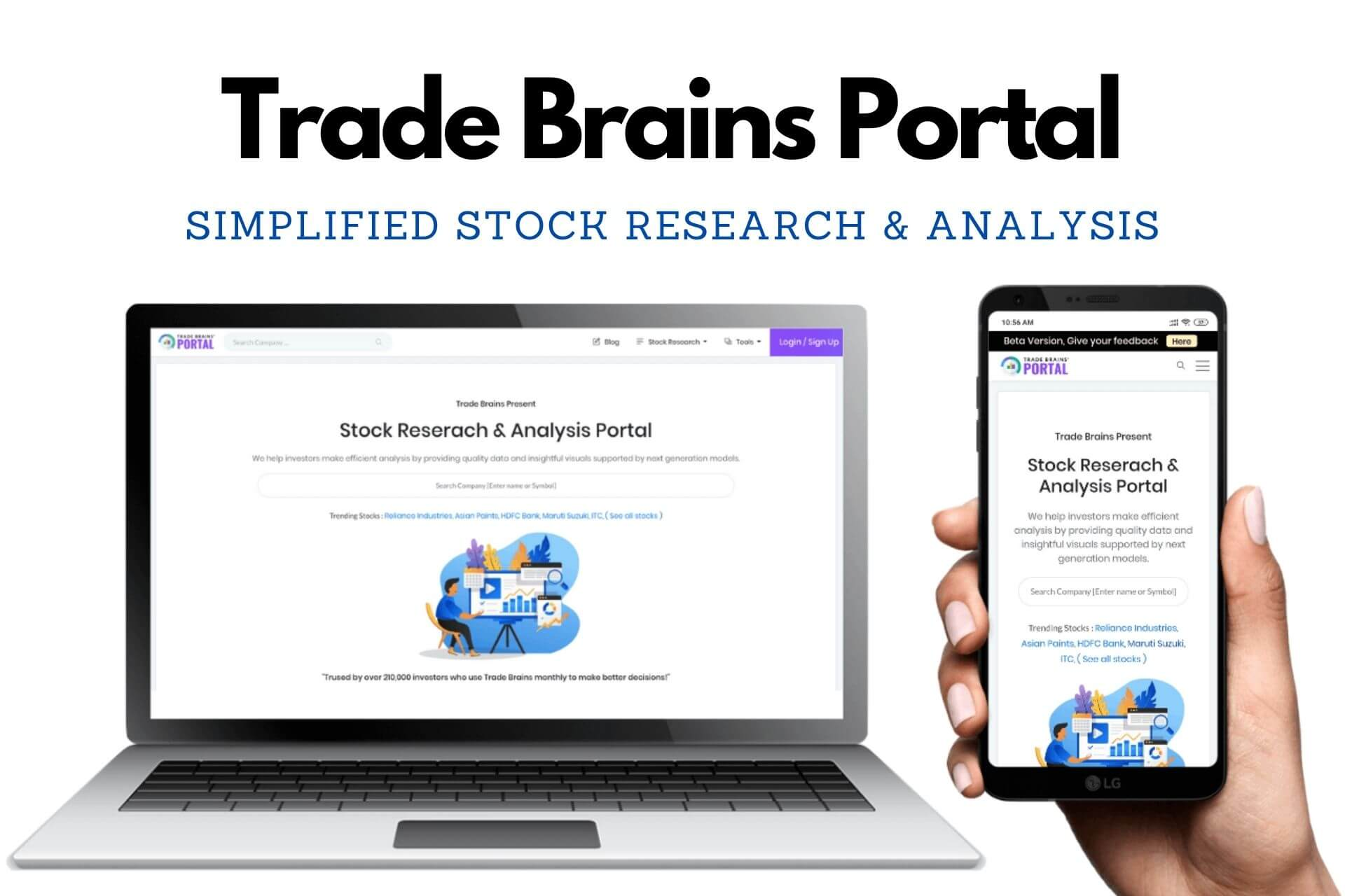 Trade Brains Portal – How to use for Stock Research cover