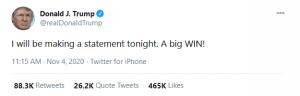 trump tweet us elections