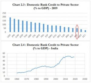 Image 2: Domestic bank credit to the private sector (source: RBI)