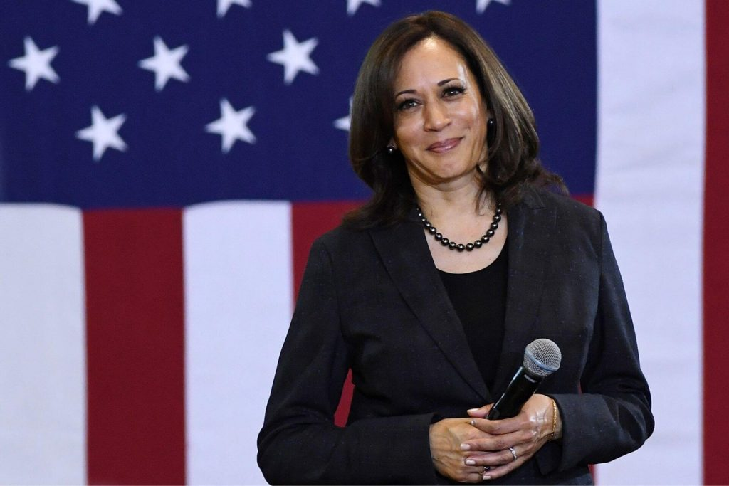 US Elections Who Is Kamala Harris Vice -Presidential Candidates Indian Connect cover
