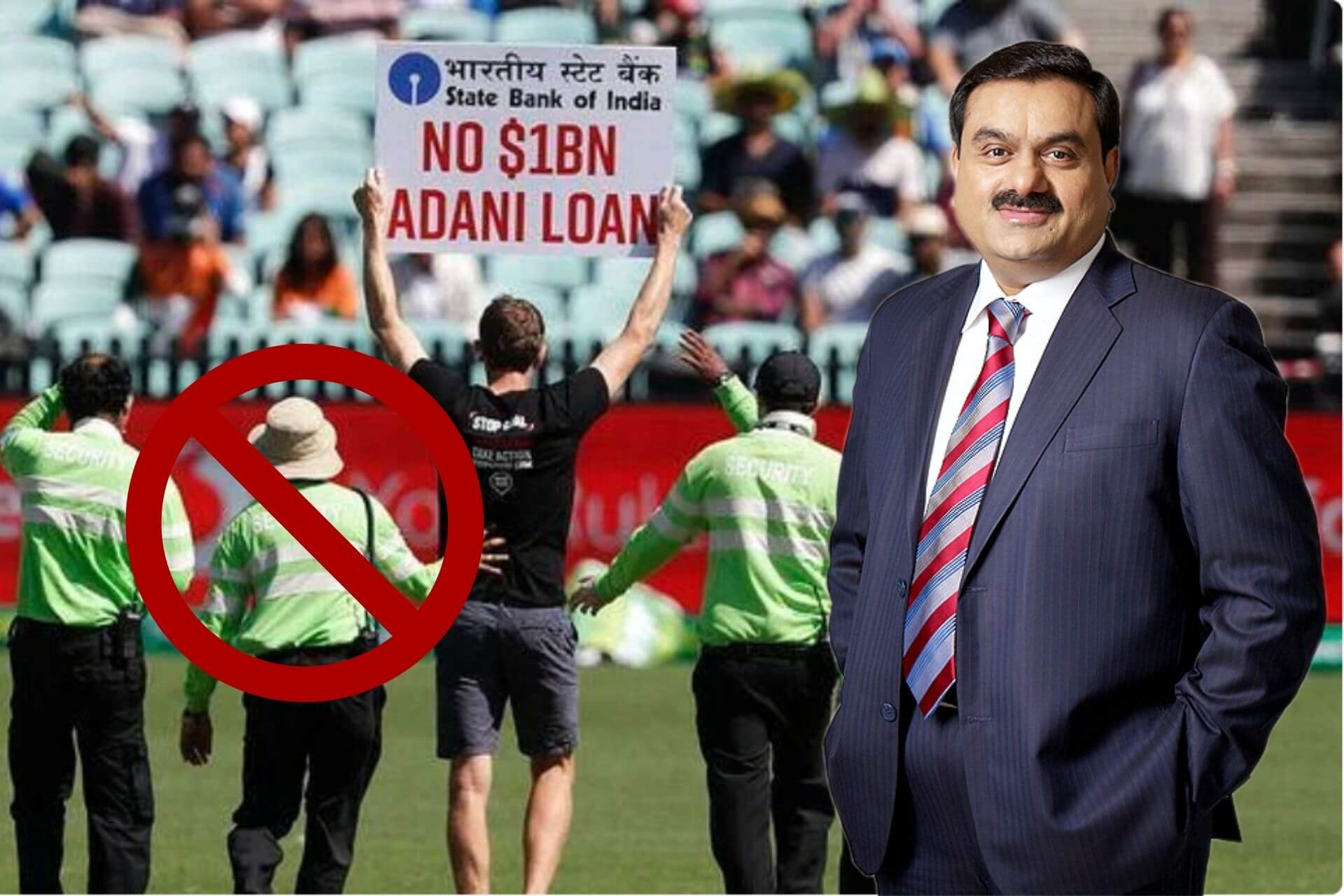 Stop Adani What is SBI's $1Billion Loan to Adani Controversy cover