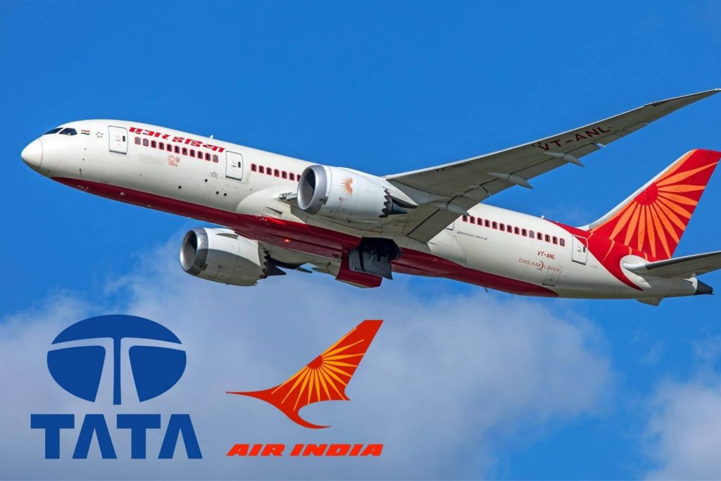 TATA Group bidding for Air India cover ratn tata