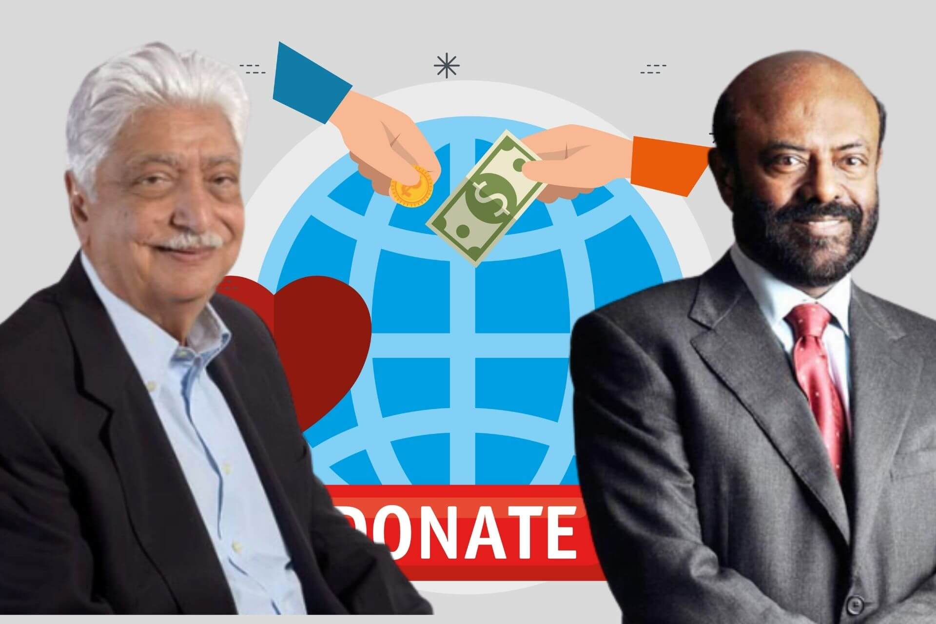 Top 10 Indian Philanthropist Businessmen cover