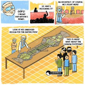 Why do most Indians not pay Taxes? cartoon