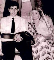 (Ratan Tata with his grandmother, Lady Navajbai Tata)