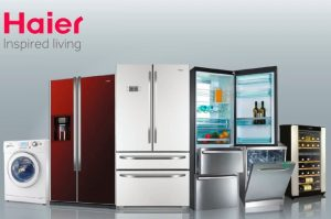 Haier white industry goods
