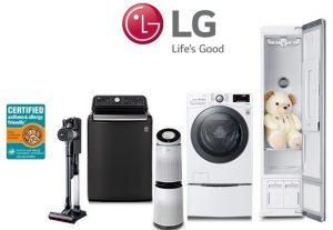 LG Electronics Top White Good Industry Stocks in India