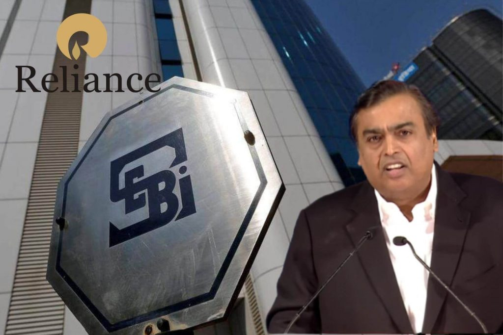SEBI vs Mukesh Ambani Case - Reliance Manipulative Trading Penalty cover