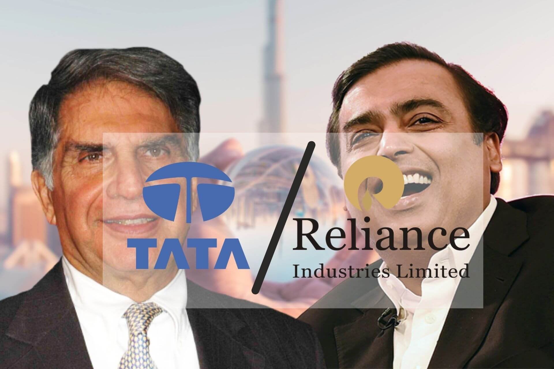Tata vs Reliance Group cover