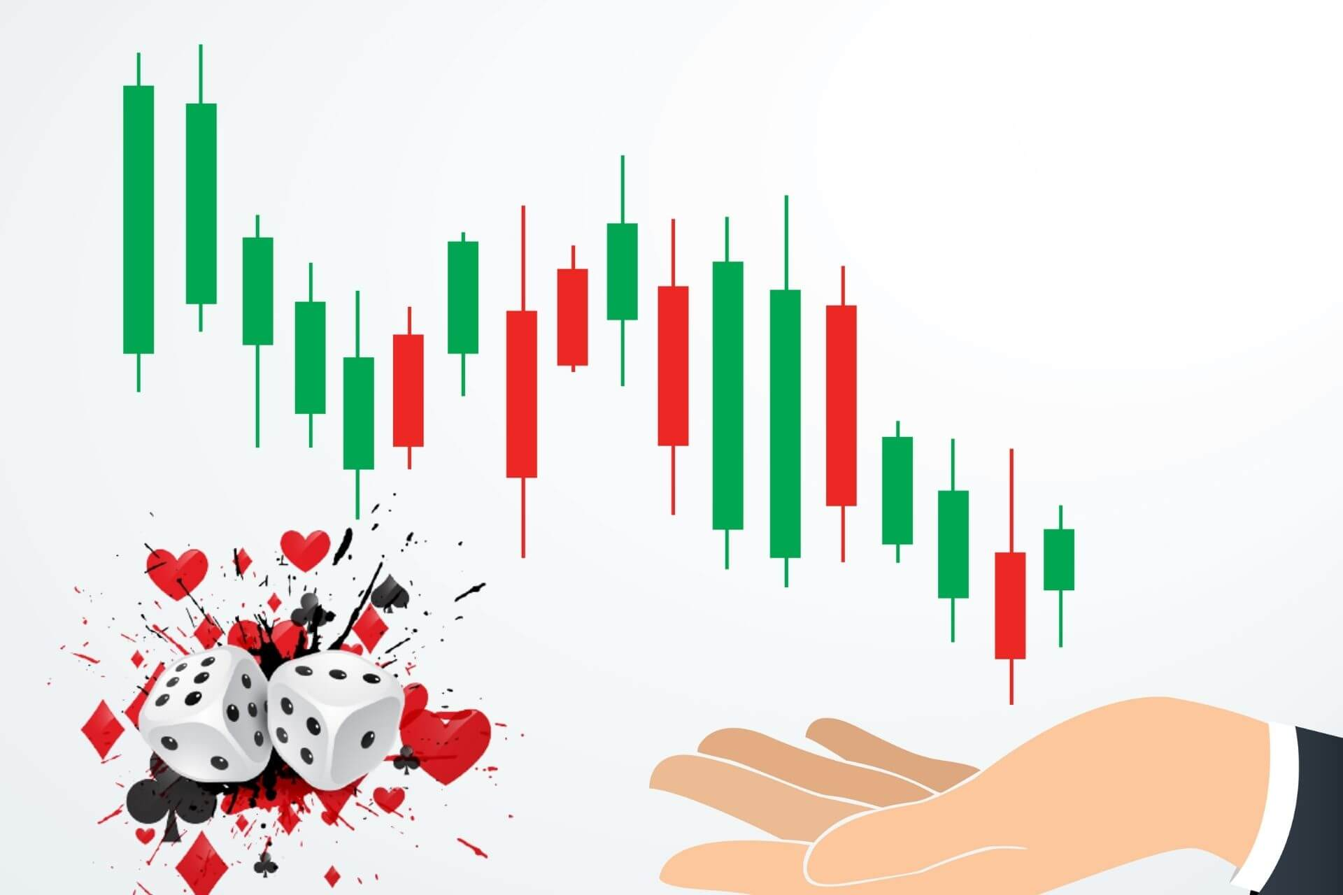 Why Investing in Stocks is NOT Gambling Myth Simplified cover