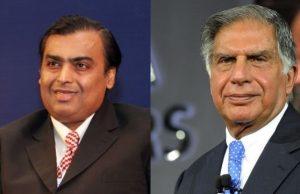 Mukesh Ambani vs Ratan Tata