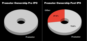 RailTel IPO Review shreholding