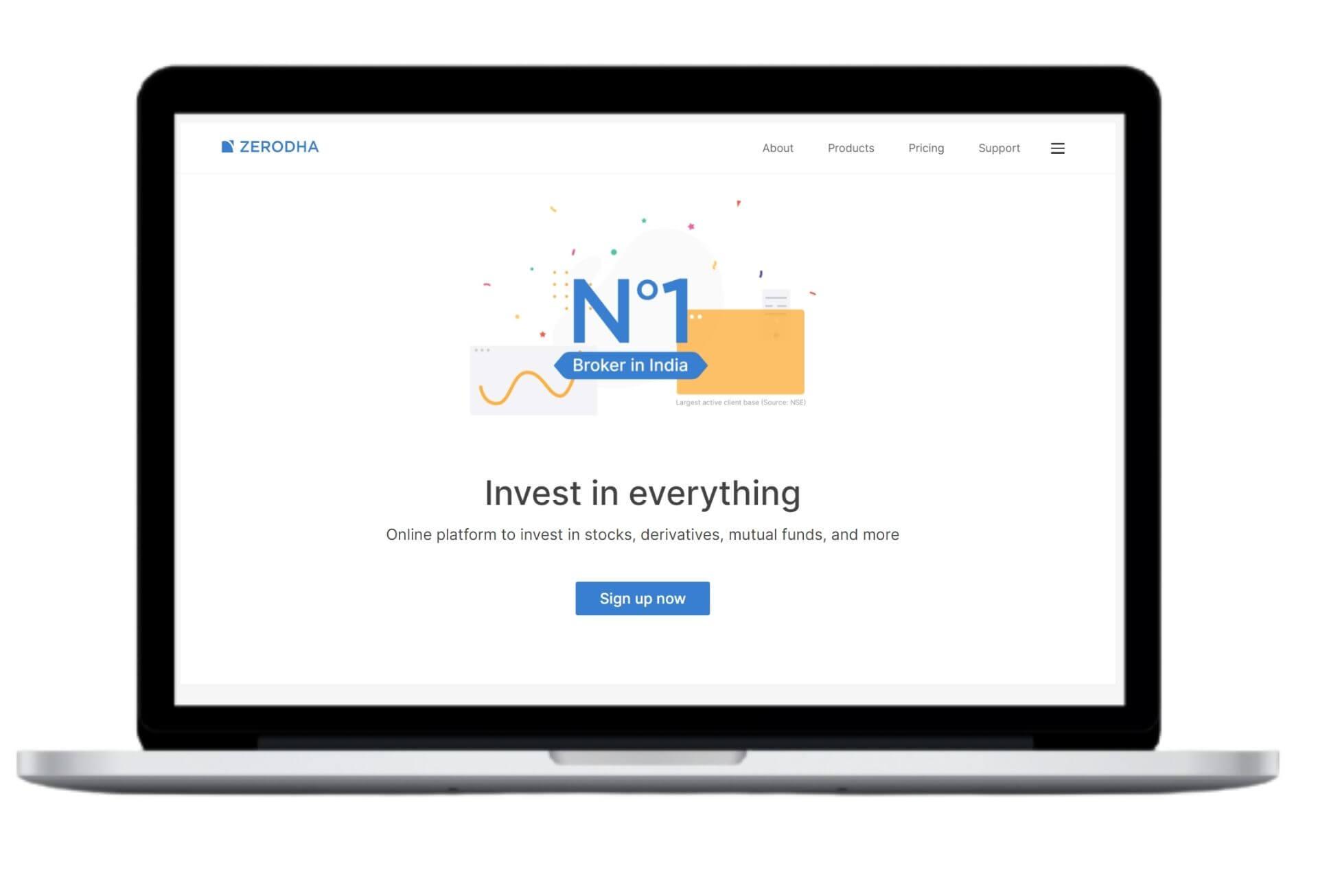 Zerodha Website | Top Stockbrokers in India