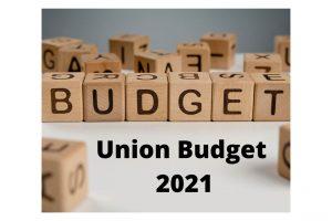 Union Budget 2021 Cover