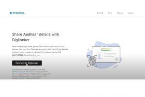 Zerodha account opening process - Step 5