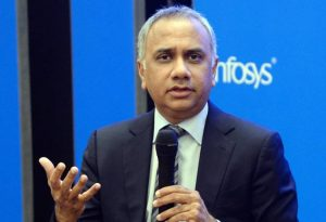 Salil Parekh - Rs 34.27 cores