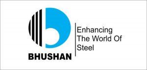 Bhushan Steel Logo