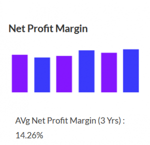 HUL Net Profit Margin