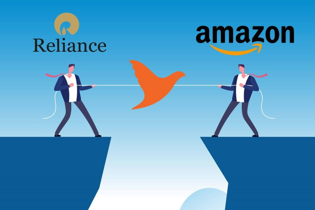 Reliance Vs Amazon